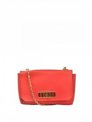 MICHAEL Michael Kors Vivian Shoulder Bag – Scarlet Red