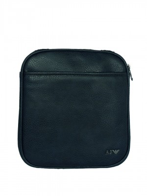 ARMANI JEANS Crossbody Messenger Bag - Blue