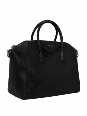 GIVENCHY Medium Antigona Satchel Bag – Black