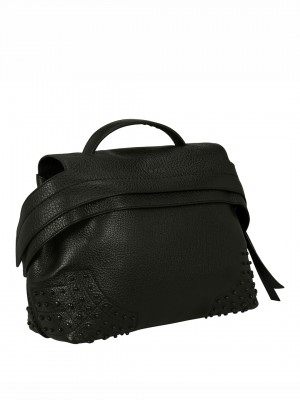 TOD'S Wave Satchel - Black