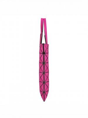 ISSEY MIYAKE BAO BAO Lucent Matte Tote – Pink