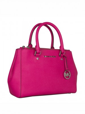 MICHAEL Michael Kors Sutton Medium Satchel - Pink
